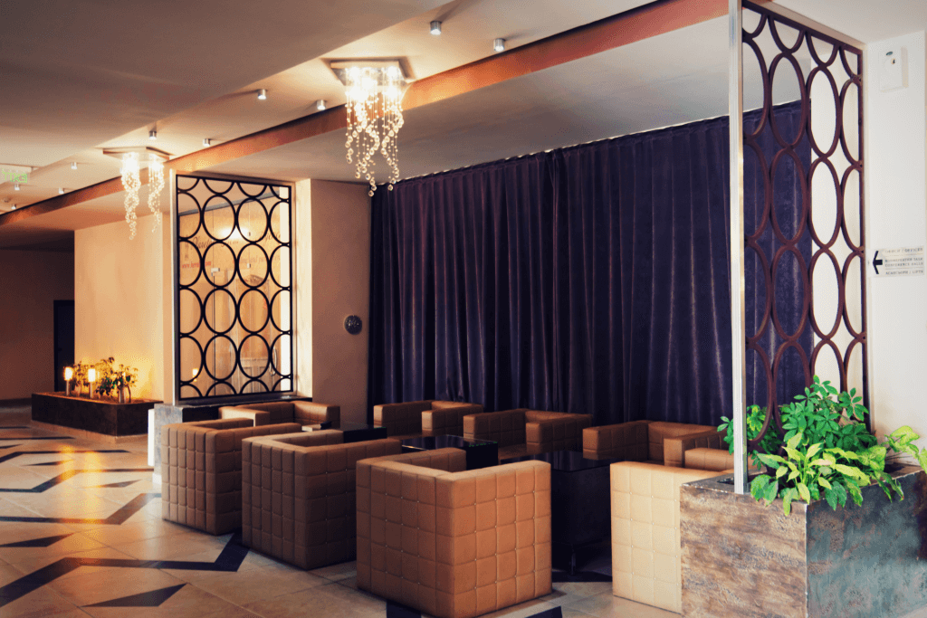 Lobby bar at Hotel SPS Plovdiv